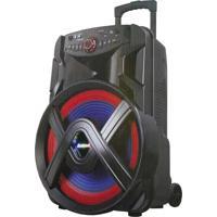 Caixa De Som Amplificadora Amvox Aca 701 Suprema, 700 Watts, Bluetooth, Usb