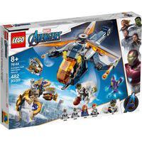 Lego Avengers - Disney - Marvel - Ultimato - Largada De Helicóptero Hulk - 76144