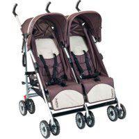 Carrinho De Bebê Burigotto Duetto Brown Ixca5040Prc14