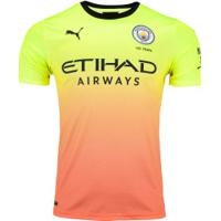 Camisa Manchester City Iii 19/20 Puma - Masculina - Amarelo