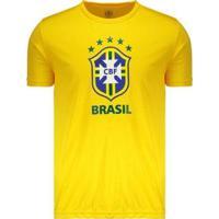 Camiseta Do Brasil Logo 2018 Masculina - Masculino