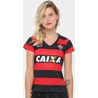 Camisa Vitória I 17/18 S/N° - Torcedor Topper Feminina - Feminino