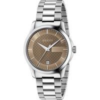 Relógio Gucci Feminino Aço - Ya126445