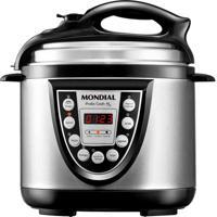 Panela Eletrica De Pressão Pratic Cook 4 Litros Prata Mondial