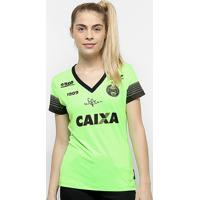 Netshoes  Camisa Goleiro Coritiba 2018 S N° C Patrocínio - Jogador 1909  Feminina - 5818f4f2e3697
