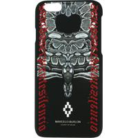 Marcelo Burlon County Of Milan Capa Para Iphone 6 Com Estampa De Cobra - Preto