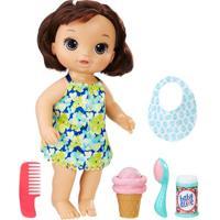 Boneca Baby Alive - Morena - Sorvete Mágico - C1089 - Hasbro