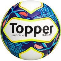 b235df4516ba6 Bola Futebol De Campo Samba Topper - Unissex