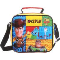 Lancheira Infantil - 22Cm - Disney - Toy Story 4 - Colorida - Dermiwil
