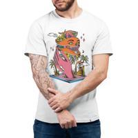 Caos Tropical #Cestabasica - Camiseta Basicona Unissex