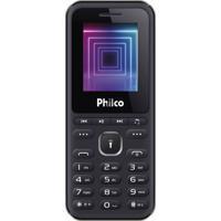 """Celular Pce01 Dual Chip 1,77"""" 2G Rádio Fm Philco Bivolt"""