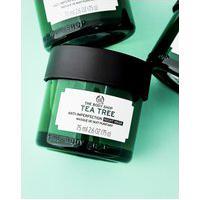 Amaro Feminino The Body Shop Máscara De Tratamento Noturna Anti-Imperfeição Tea Tree - 75Ml, Neutra
