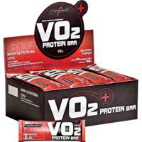 Barra De Proteína - Vo2 Slim Protein Bar - 24 Un - Integralmédica-Morango