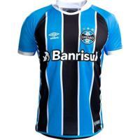 Camisa Grêmio I 17/18 Nº 7 - Torcedor Umbro Masculina - Masculino