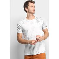 Camiseta Treebo Cracker Masculina - Masculino-Off White