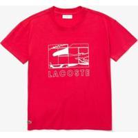 Camiseta Lacoste Sport Feminina - Feminino-Rosa