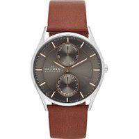 Relógio Analógico Skagen Masculino Holst - Skw6086/0Cn Marrom