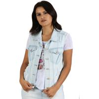 Colete It'S & Co Audrey Jeans Azul