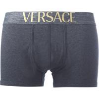 Versace Cueca Boxer - Cinza