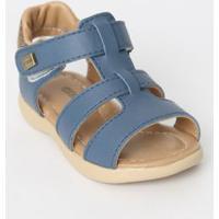 Sandália Bebê Azul Nevoeiro - Ortopé - 17