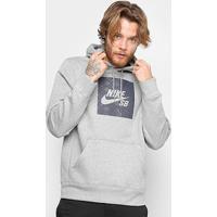 Blusão Nike Sb Nomad Com Capuz Masculino - Masculino-Mescla