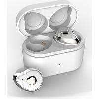 Fone De Ouvido Sdbc Se6 Bluetooth 5.0 Com Case - Branco E Prata
