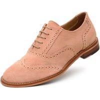 Sapato Jacometti Oxford Camurça Vr13 Salmão