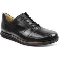 Sapato Social Masculino Conforto Sandro Moscoloni Looper Preto Black