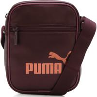 Bolsa Puma Core Up Portable Vinho