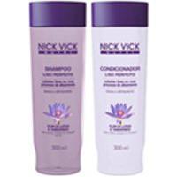 Kit Shampoo E Cond Liso Perfeito Nick Vick Nutri 300Ml