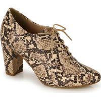 Sapato Oxford Lara Bege