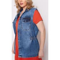 Colete Almaria Plus Size Izzat Dieppe Jeans