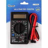 Multímetro Digital Western Dt-830D Preto