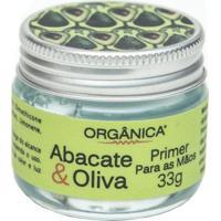 Hidratante Para As Mãos Orgânica Primer Abacate E Oliva 33G - Unissex