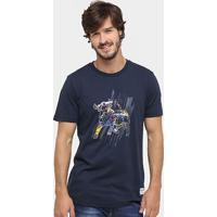 Camiseta Puma Red Bull Racing Graphic 2 - Masculino-Marinho