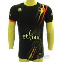 Camisa Belgica Volei Errea Preta - Errea