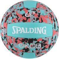 Bola De Vôlei Spalding Eva Foam Series Volley 5 72351Z - Verde/Preto