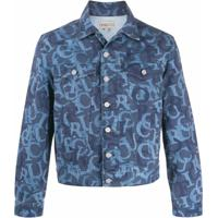 Fiorucci Jaqueta Jeans Nico Com Logo - Azul