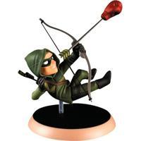 Figura Colecionável 15 Cm - Q-Figures - Dc Comics - Green Arrow - Bandai - Unissex-Incolor