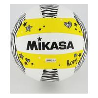 Bola Vôlei De Praia Mikasa Vxs-Zb Branca E Amarela