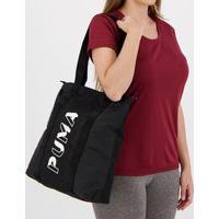 Bolsa Puma Core Base Shopper Ii Preta