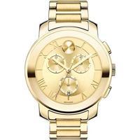 Relógio Movado Feminino Aço Dourado - 3600209