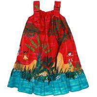 Vestido Precoce Mini Gangorra Multicolorido