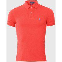 Camisa Polo Polo Ralph Lauren Slim Polo Vermelha