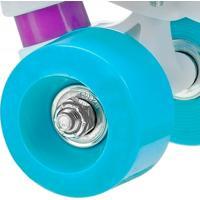 Kit De Rodas Roller Derby Para Patins Quad Star 600 Wom - Feminino