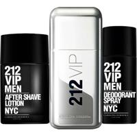 Kit 212 Vip Men (Perfume 50Ml + Desodorante + Pós Barba) 50 Ml