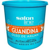 Guanidina Salon Line - Óleo De Argan Regular - 218Gr - Unissex-Incolor