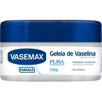 Geleia De Vaselina Vasemax Pura 100G