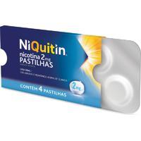 Niquitin 2Mg Perrigo 4 Pastilhas