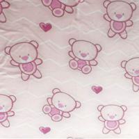 Manta Microfibra Confort Baby Hazime Sofy Rosa - Kanui